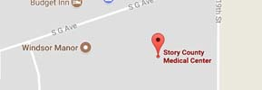 Story County Medical Center Google Map